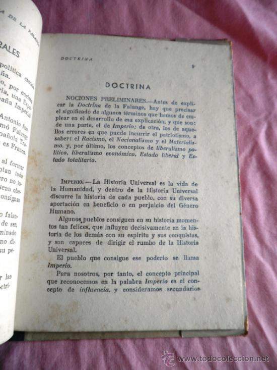 Libros de segunda mano: TEORIA DE LA FALANGE - JULIAN PEMARTIN. - Foto 3 - 37193785
