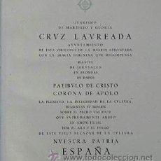 Libros de segunda mano: LAUREADOS DE ESPAÑA. Lote 38879600
