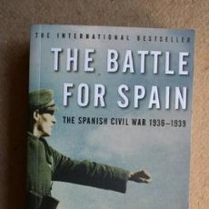 Libros de segunda mano: THE BATTLE FOR SPAIN. THE SPANISH CIVIL WAR 1936-1939. ANTONY BEEVOR.. Lote 38943422