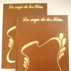 Libros de segunda mano: LA SAGA DE LOS RIUS, LA CENIZA FUE ARBOL, GUERRA CIVIL, VOL. 7 Y 8. Lote 39160960