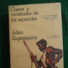 Libros de segunda mano: GUERRAS Y VICISITUDES DE LOS ESPAÑOLES. ZUGAZAGOITIA. GRIJALBO. 1977 600 PAG. Lote 39387684