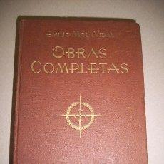 Libros de segunda mano: MOLA VIDAL, EMILIO. OBRAS COMPLETAS. Lote 40711012