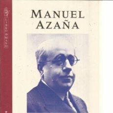Libros de segunda mano: MANUEL AZAÑA. MEMORIAS DE GUERRA. GRIJALBO. BARCELONA. 1996. Lote 41316300