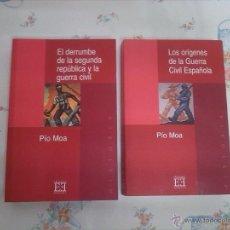 Libros de segunda mano: DOS LIBROS DE LA GUERRA CIVIL ESPALOLA. Lote 41579788