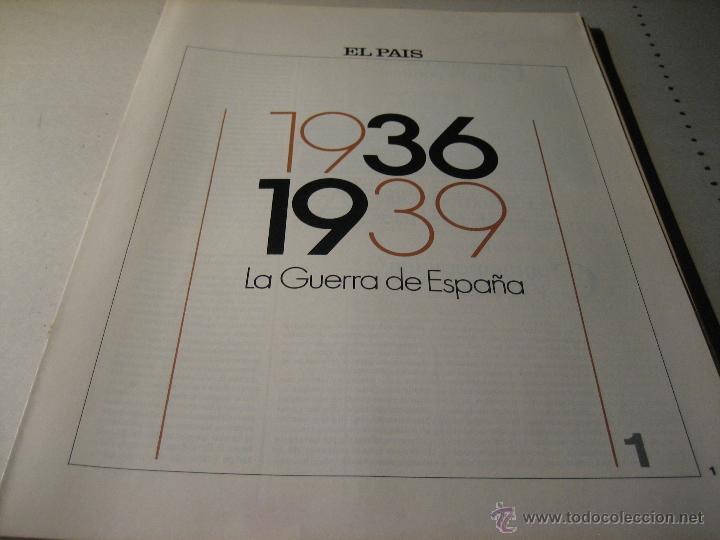 1936-1939, LA GUERRA DE ESPAÑA. FASCICULO 1.- 1936 1939: LA GUERRA DE ESPAÑA (Libros de Segunda Mano - Historia - Guerra Civil Española)