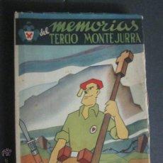 Libros de segunda mano: MEMORIAS DEL TERCIO DE MONTEJURRA - CARLISMO - POLICARPO CIA NAVASCUES- AÑO 1941-PAMPLONA-(L-11). Lote 83952772