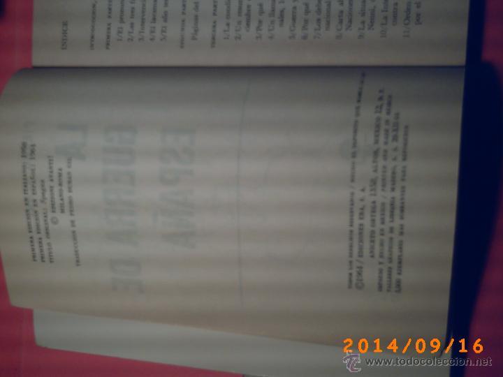 Libros de segunda mano: LA GUERRA DE ESPAÑA-PIETRO NENNI-NUMERADA Nº 520 DE 3000 EJEMPLARES-1ª EDICCIÓN EN ESPAÑOL 1964 - Foto 3 - 45266339