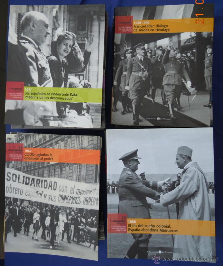 Libros de segunda mano: EL FRANQUISMO AÑO A AÑO- EL MUNDO-34 VOLUMENES - Foto 2 - 45563780