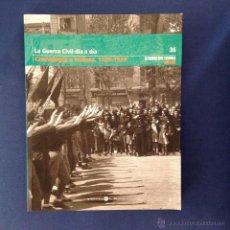 Libros de segunda mano: LA GUERRA CIVIL ESPAÑOLA. ( TOMO 36 ) BIBLIOTECA EL MUNDO 2005. Lote 45818438