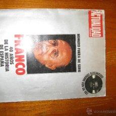 Libros de segunda mano: FRANCO (REVISTA ACTUALIDAD). Lote 46034182
