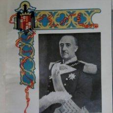 Libros de segunda mano: POST GUERRA CIVIL ESPAÑOLA,LIBRO-ALBUM HOMENAJE A LA ARGENTINA-AÑO 1947,FOTOS GENERAL FRANCO Y PERON. Lote 46097867