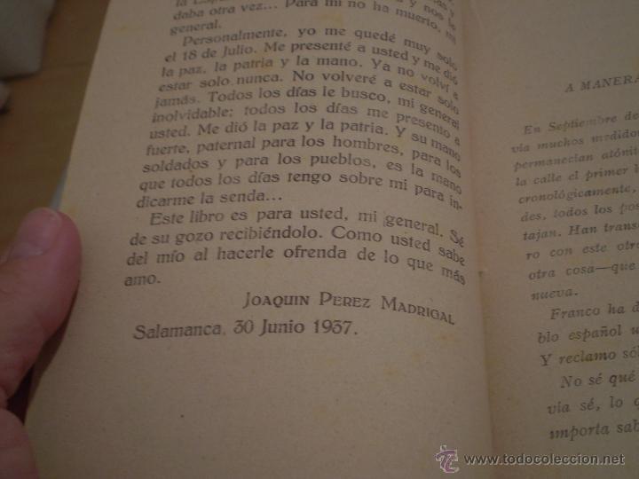 Libros de segunda mano: JOAQUIN PEREZ MADRIGAL.TIPOS Y SOMBRAS DE LA TRAGEDIA.1ª EDICION.AVILA.IMPRENTA CATOLICA.1937. - Foto 3 - 46139887