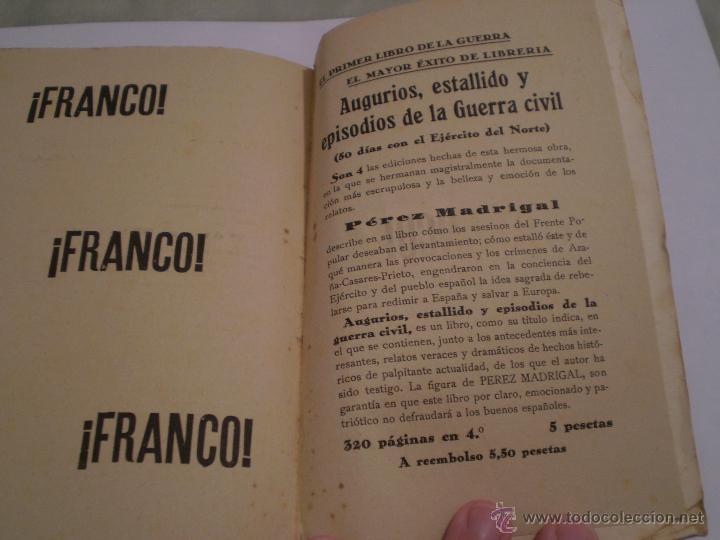 Libros de segunda mano: JOAQUIN PEREZ MADRIGAL.TIPOS Y SOMBRAS DE LA TRAGEDIA.1ª EDICION.AVILA.IMPRENTA CATOLICA.1937. - Foto 4 - 46139887
