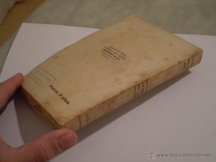 Libros de segunda mano: JOAQUIN PEREZ MADRIGAL.TIPOS Y SOMBRAS DE LA TRAGEDIA.1ª EDICION.AVILA.IMPRENTA CATOLICA.1937. - Foto 5 - 46139887