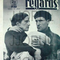Libros de segunda mano: REGARDS. 1939. ROBERT CAPA. GUERRA CIVIL. II REPUBLICA. ORIGINAL. Lote 46331349