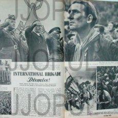Libros de segunda mano: PICTURE POST. 1938. ROBERT CAPA. BRIGADAS INTERNACIONALES. GUERRA CIVIL. II REPUBLICA. ORIGINAL. Lote 46331687