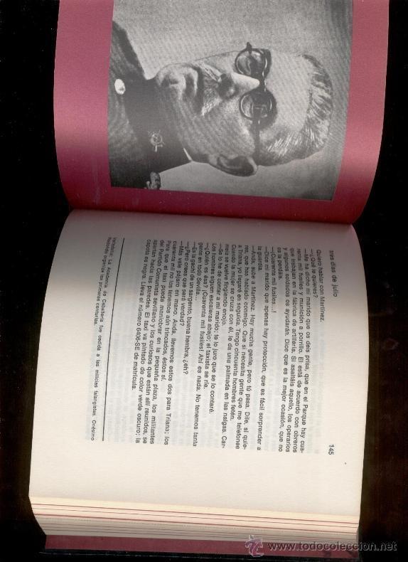 Libros de segunda mano: TRES DIAS DE JULIO (VOL. 18 y VOL. 20) - LUIS ROMERO (1969) - Foto 3 - 47550795