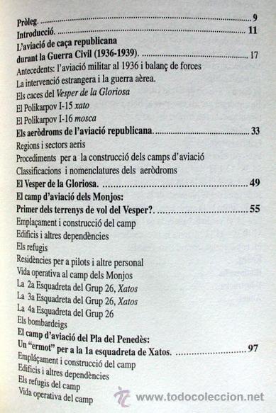 Libros de segunda mano: EL VESPER DE LA GLORIOSA, L'AVIACIÓ REPUBLICANA - Foto 3 - 47874680