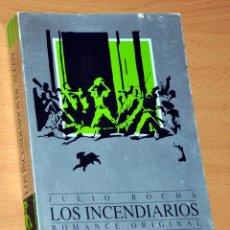 Libros de segunda mano: LOS INCENDIARIOS DE ALCOY - ROMANCE ORIGINAL - DE JULIO ROCHA - EDITORIAL ALCOY - AÑO 2000. Lote 48246087