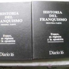 Libros de segunda mano: HISTORIA DEL FRANQUISMO (2 VOLÚMENES). Lote 48993232
