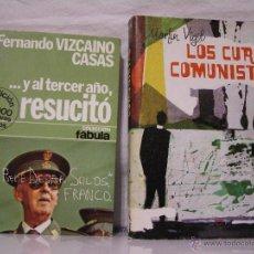 Libros de segunda mano: LOS CURAS COMUNISTAS + AL TERCER DÍA RESUCITÓ - 2 LIBROS GUERRA CIVIL. Lote 49600793