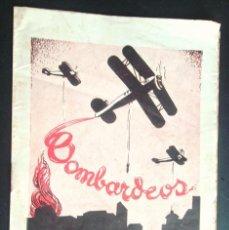 Libros de segunda mano: BOMBARDEOS AEREOS, MARÍTIMOS... MEDIOS PARA DEFENDERSE BARCELONA CA 1938 IL·LUSTRA B/N RAR V FOTOS. Lote 49620995