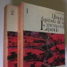 Libros de segunda mano: HISTORIA ILUSTRADA DE LA GUERRA CIVIL ESPAÑOLA RICARDO DE LA CIERVA - 2 TOMOS. Lote 50113359