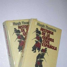 Libros de segunda mano: HISTORIA DE LA GUERRA CIVIL ESPAÑOLA (2 VOLÚMENES). HUGH THOMAS. CÍRCULO DE LECTORES, 1977. Lote 50121894