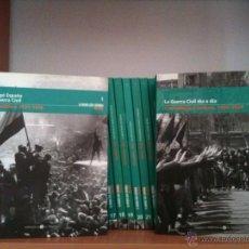 Libros de segunda mano: LA GUERRA CIVIL ESPAÑOLA MES A MES. 36 VOLÚMENES (COMPLETA). Lote 51319905