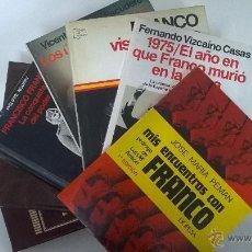 Libros de segunda mano: LOTE LIBROS FRANCO Y LA GUERRA CIVIL ESPAÑOLA. 7 LIBROS.. Lote 51566627