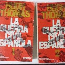 Libros de segunda mano: HUGH THOMAS. LA GUERRA CIVIL ESPAÑOLA. Lote 145503689