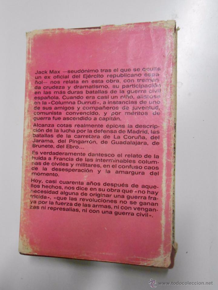 Libros de segunda mano: MEMORIAS DE UN REVOLUCIONARIO. JACK MAX. TDK153 - Foto 2 - 121493955