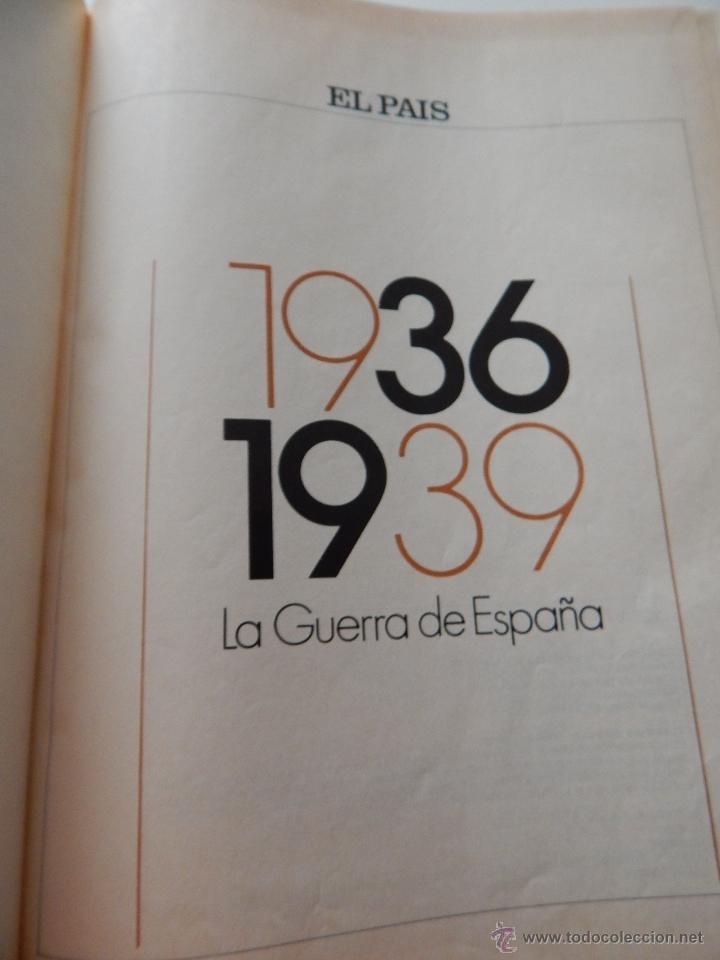 Libros de segunda mano: 1936-1939 La Guerra de España - El País, 1986 - Foto 5 - 52919009