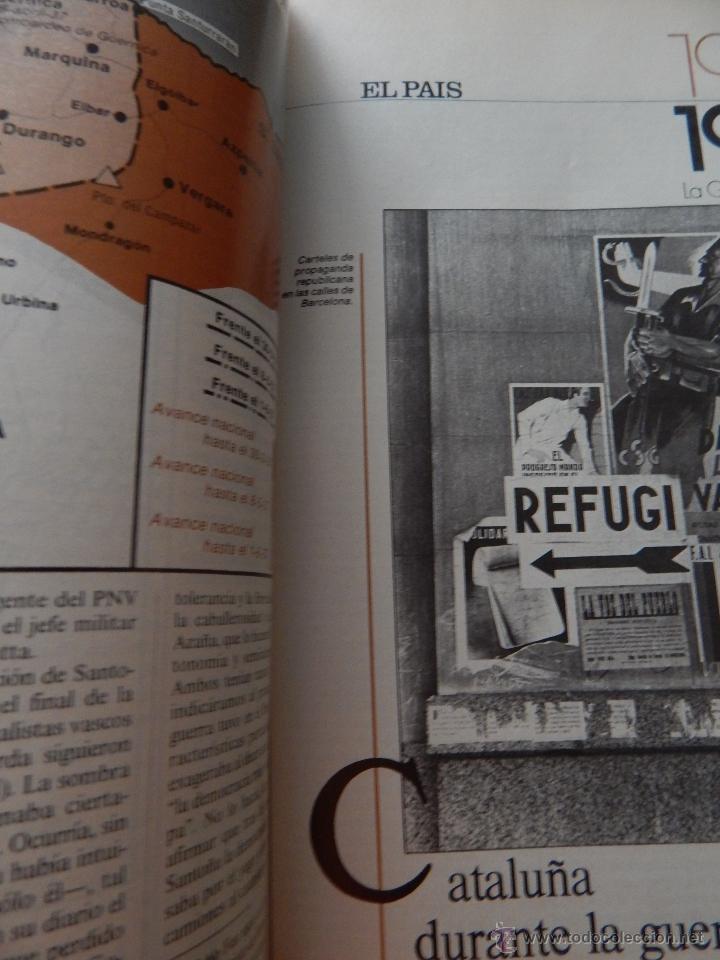 Libros de segunda mano: 1936-1939 La Guerra de España - El País, 1986 - Foto 9 - 52919009