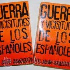 Libros de segunda mano: GUERRA Y VICISITUDES DE LOS ESPAÑOLES ZUGAZAGOITIA, JULIÁN GASTOS DE ENVIO GRATIS. Lote 54021131