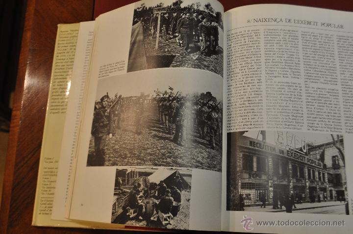 Libros de segunda mano: HISTÒRIA GRÀFICA DE LA CATALUNYA AUTÒNOMA LA GUERRA ( 1936 - 1939 ) EDICIONS 62 - Foto 2 - 54253023