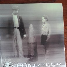 Libros de segunda mano: 1936 MEMORIA DE LA GUERRA EN EUSKADI. INCLUYE CD. 2006.. Lote 56522657
