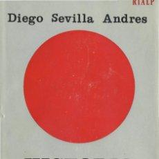 Libros de segunda mano: HISTORIA POLÍTICA DE LA ZONA ROJA. DIEGO SEVILLA ANDRES ED RIALP (GUERRA CIVIL, ALZAMIENTO COMUNISMO. Lote 56644836