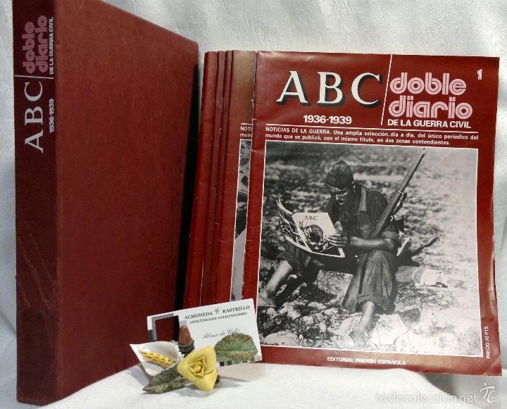 Libros de segunda mano: 1978.- DOBLE DIARIO DE LA GUERRA CIVIL. ABC 1936 -1939. Tomo 1º, FASCICULOS del 1 al 10 - Foto 2 - 57632075