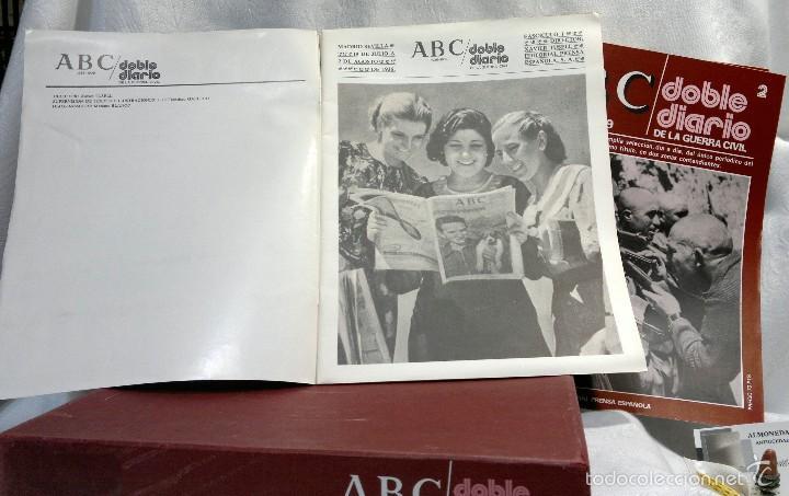Libros de segunda mano: 1978.- DOBLE DIARIO DE LA GUERRA CIVIL. ABC 1936 -1939. Tomo 1º, FASCICULOS del 1 al 10 - Foto 4 - 57632075