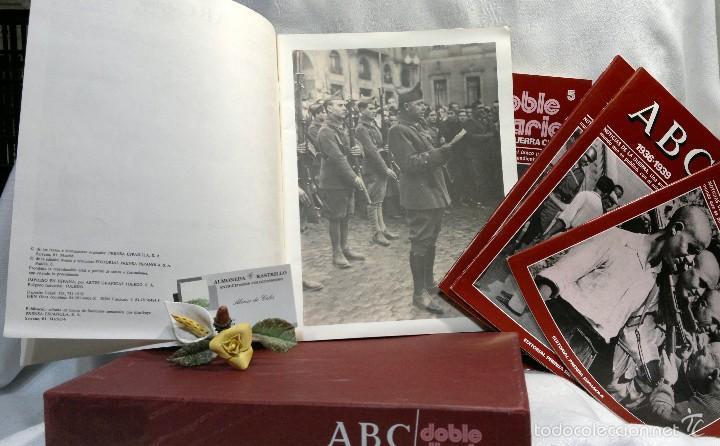 Libros de segunda mano: 1978.- DOBLE DIARIO DE LA GUERRA CIVIL. ABC 1936 -1939. Tomo 1º, FASCICULOS del 1 al 10 - Foto 5 - 57632075