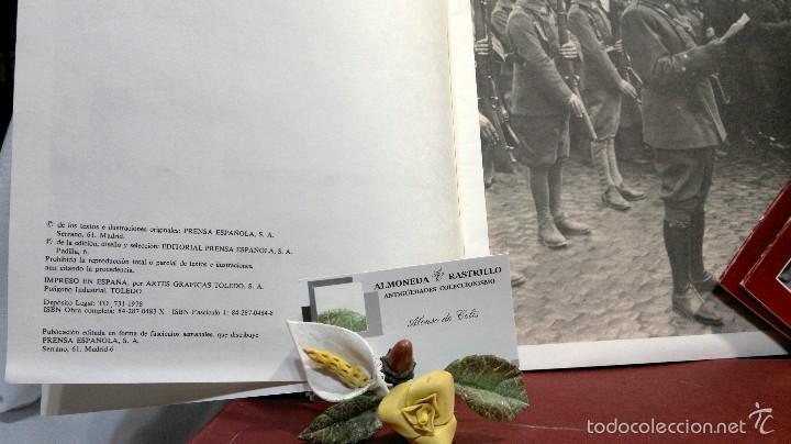 Libros de segunda mano: 1978.- DOBLE DIARIO DE LA GUERRA CIVIL. ABC 1936 -1939. Tomo 1º, FASCICULOS del 1 al 10 - Foto 6 - 57632075