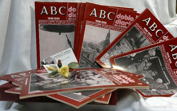 Libros de segunda mano: 1978.- DOBLE DIARIO DE LA GUERRA CIVIL. ABC 1936 -1939. Tomo 1º, FASCICULOS del 1 al 10 - Foto 7 - 57632075