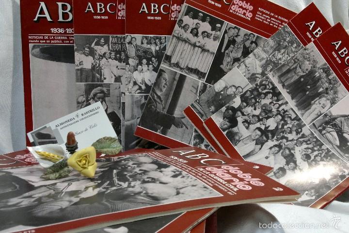 Libros de segunda mano: 1978.- DOBLE DIARIO DE LA GUERRA CIVIL. ABC 1936 -1939. Tomo 1º, FASCICULOS del 1 al 10 - Foto 8 - 57632075