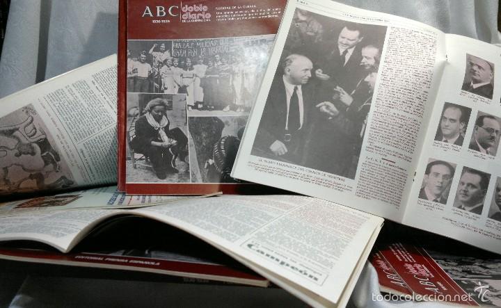 Libros de segunda mano: 1978.- DOBLE DIARIO DE LA GUERRA CIVIL. ABC 1936 -1939. Tomo 1º, FASCICULOS del 1 al 10 - Foto 9 - 57632075