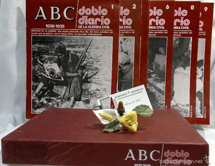 Libros de segunda mano: 1978.- DOBLE DIARIO DE LA GUERRA CIVIL. ABC 1936 -1939. Tomo 1º, FASCICULOS del 1 al 10 - Foto 10 - 57632075