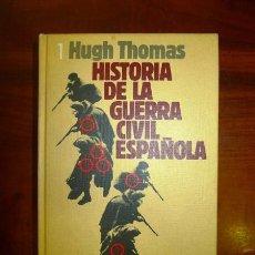 Libros de segunda mano: THOMAS, HUGH. LA GUERRA CIVIL ESPAÑOLA : 1936-1939. VOL. 1. Lote 57644537