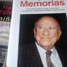 Libros de segunda mano: MEMORIAS. CARRILLO. Lote 58255378