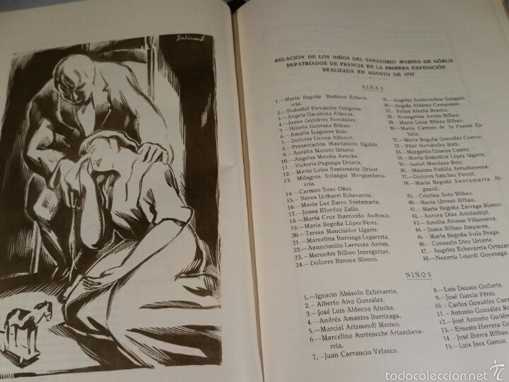 Libros de segunda mano: EVACUACIÓN Y REPATRIACION DEL SANATORIO DE GORLIZ. GUERRA CIVIL - Foto 3 - 58276378