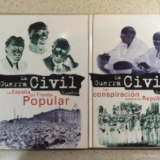 Libros de segunda mano: LA GUERRA CIVIL ESPAÑOLA - ED. FOLIO 1996 (TOMOS 2 Y 3). Lote 58352918